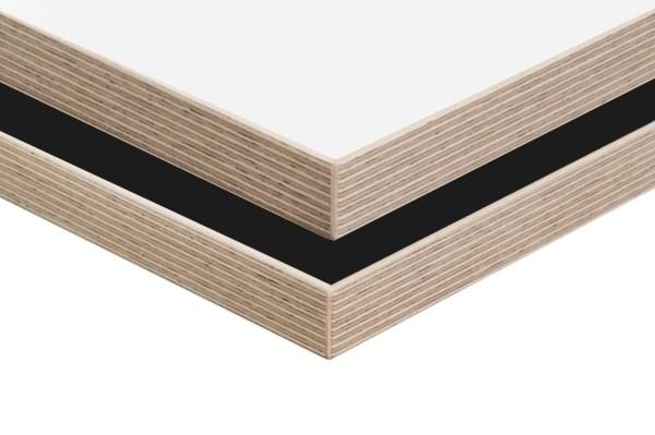 Tischplatte Multiplex-Kante