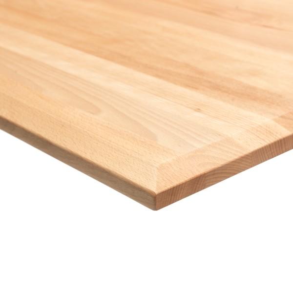 boho möbelwerkstatt DO IT Yourself Massivholz Tischplatte Schreibtischplatte 160 x 80 x 2.5 cm in Bu